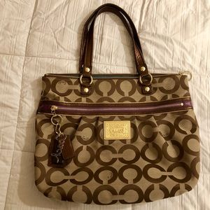 COACH Poppy Limited Edition Tote